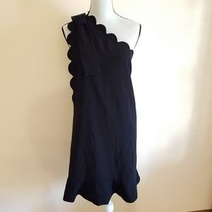 Victoria Beckham for Target Black 1 Shoulder dress